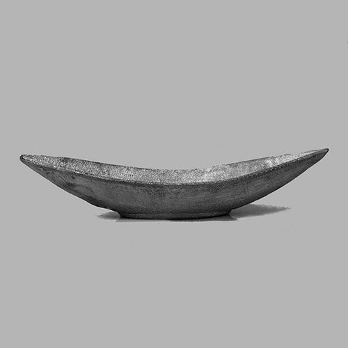 Boat Shaped Aluminium Bowl