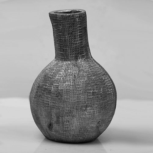 Bottle Shaped Aluminium Vase
