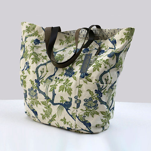 Chintz Tree Of Life Printed Tote Bag