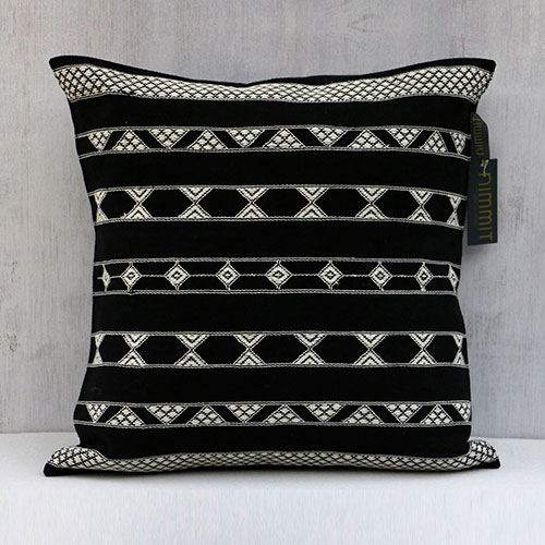 Border Design Cushion Cover