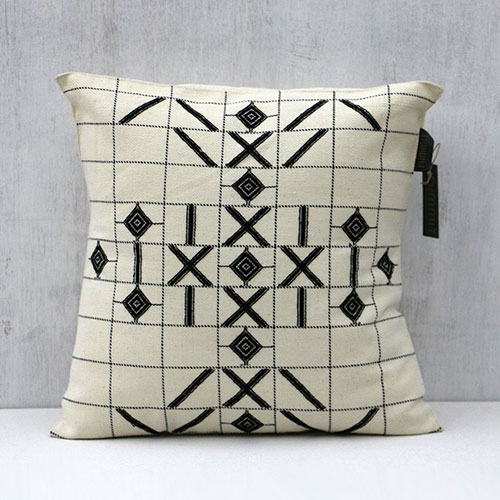 Tantrik Design Woven Cushion Cover