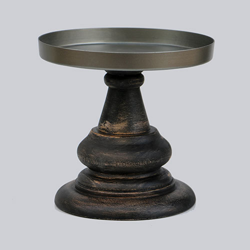 Wooden Candle Stand - Large