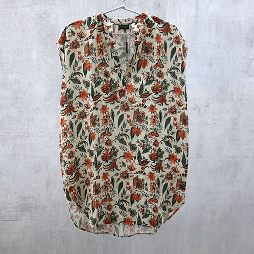 Floral Chintz Block Printed Tunic