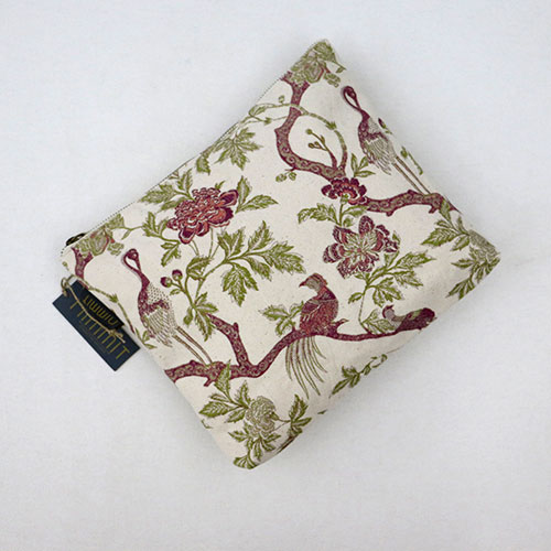 Chintz Tree Of Life Block Printed Pouch