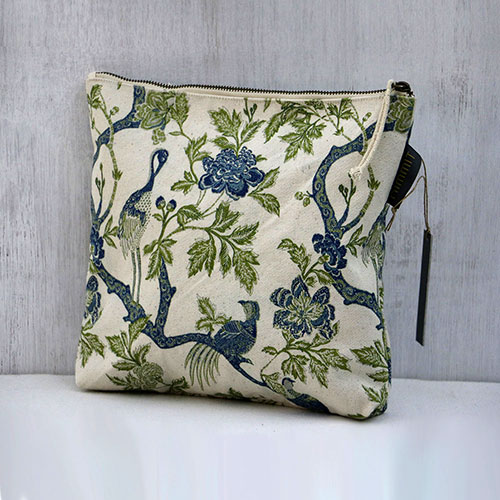 Chintz Tree Of Life Printed Pouch