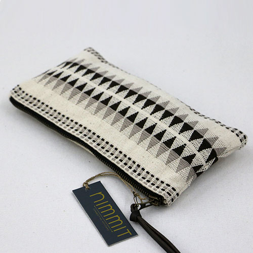 Diamond Design Flat Pouch