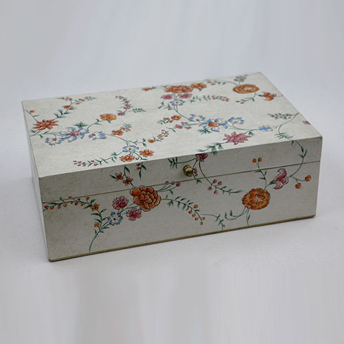 Chintz Jali All Over Hand Painted Box - Large
