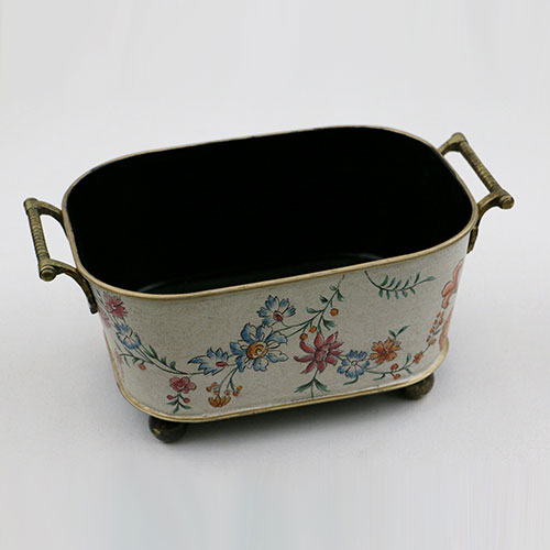 Chintz Jali All Over Hand Painted Wine Cooler