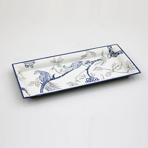 Chintz Tree Of Life Hand Painted Tray