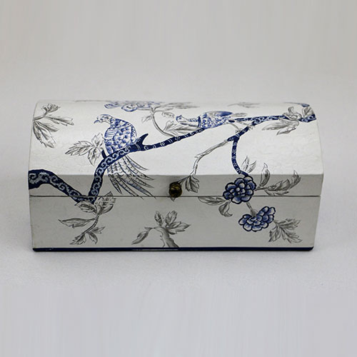 Chintz Tree Of Life Hand Painted Box