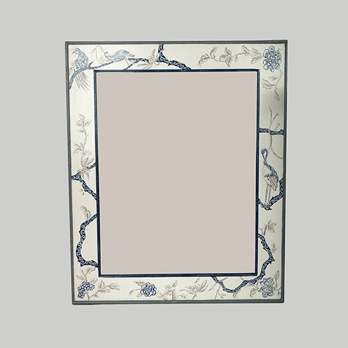 Chintz Tree Of Life Hand Painted Mirror Frame