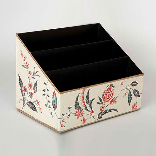 Floral Chintz Hand Painted Letter Holder