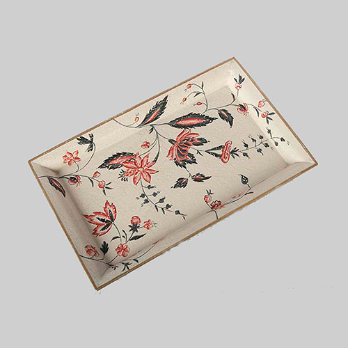 Floral Chintz Hand Painted Tray
