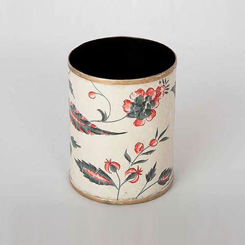Floral Chintz Hand Painted Pencil Holder